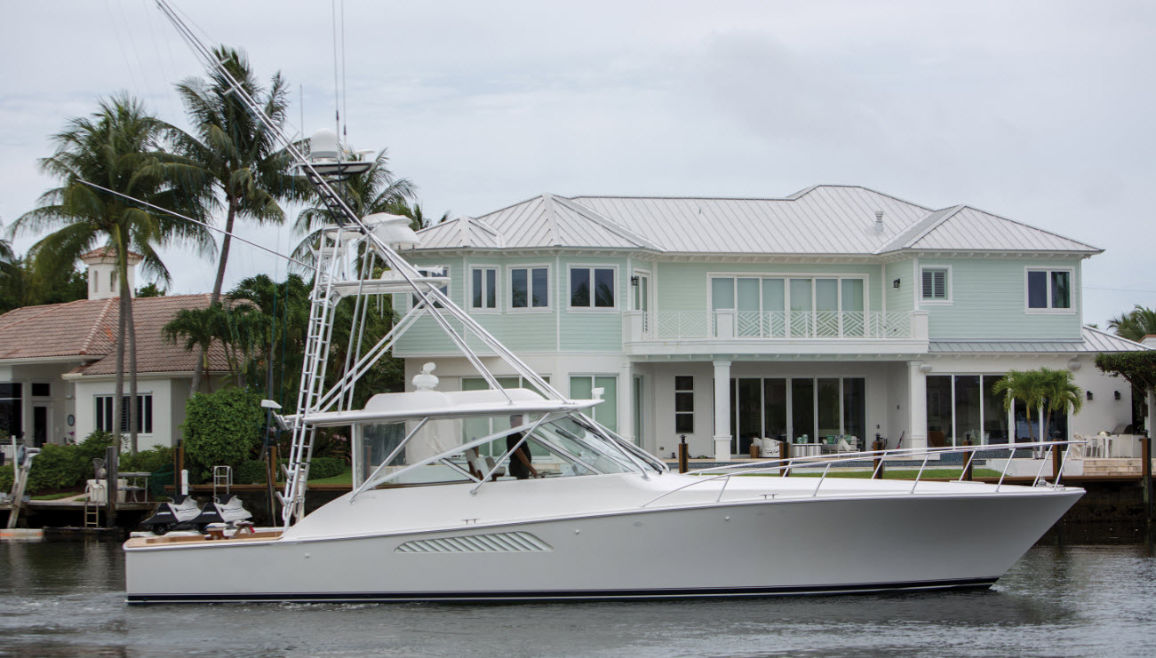 "2007 Viking 52 Express ""In The Game"" – Sold by HMY Yacht Sales"