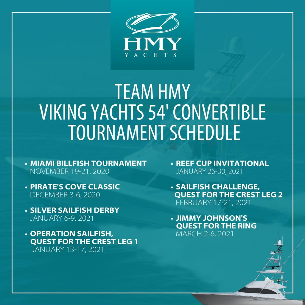 Viking 54 Schedule of Tournaments