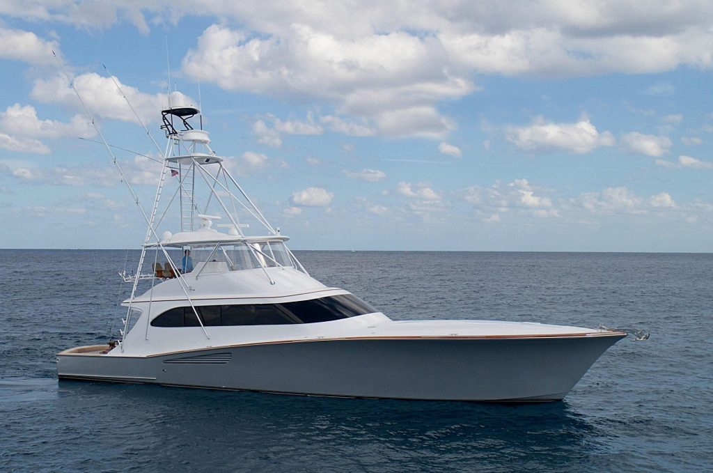 Weaver 75 Sterling Sold By HMY Yachts
