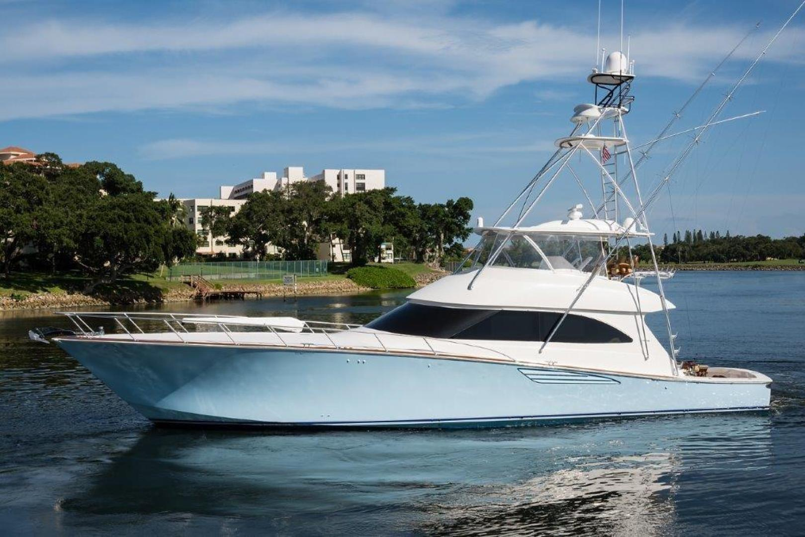 "2016 Viking 70 Convertible with Gyro ""Bella"" — Sold by HMY Yacht Sales"