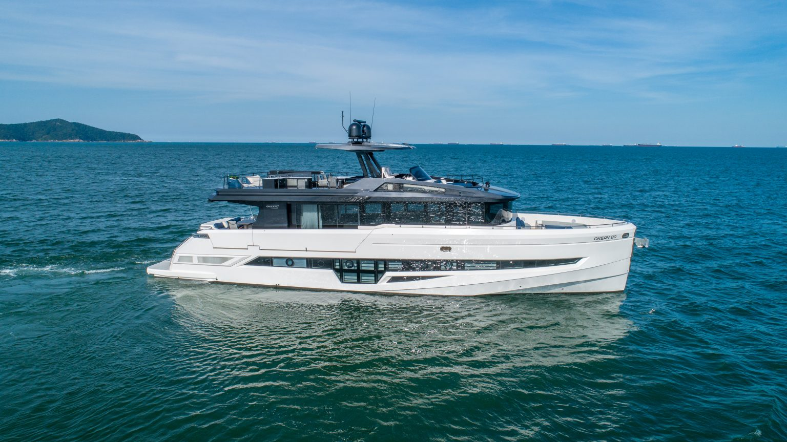 OKEAN Yachts 80' Flybridge Motor Yacht – The Queen of the OKEAN Line