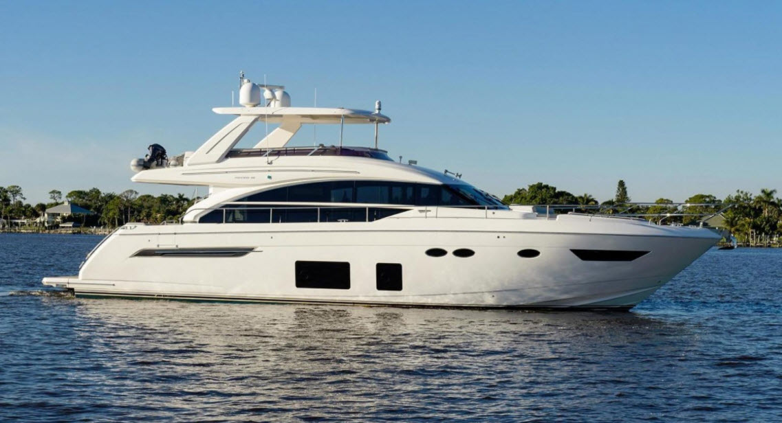 "2016 Princess 68 Flybridge Motor Yacht ""Skippin Stones"" — Sold by HMY Yacht Sales"