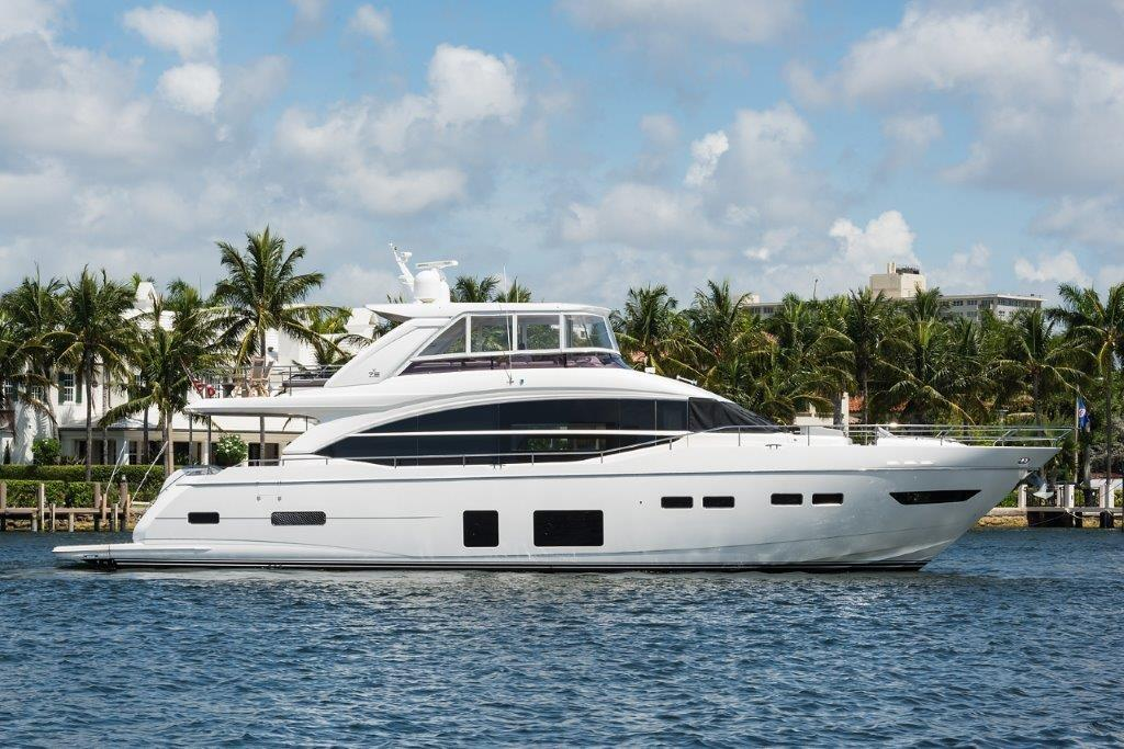 "2017 Princess 75 Motor Yacht ""I Dream of Jeannie"" — Sold by HMY Yacht Sales"