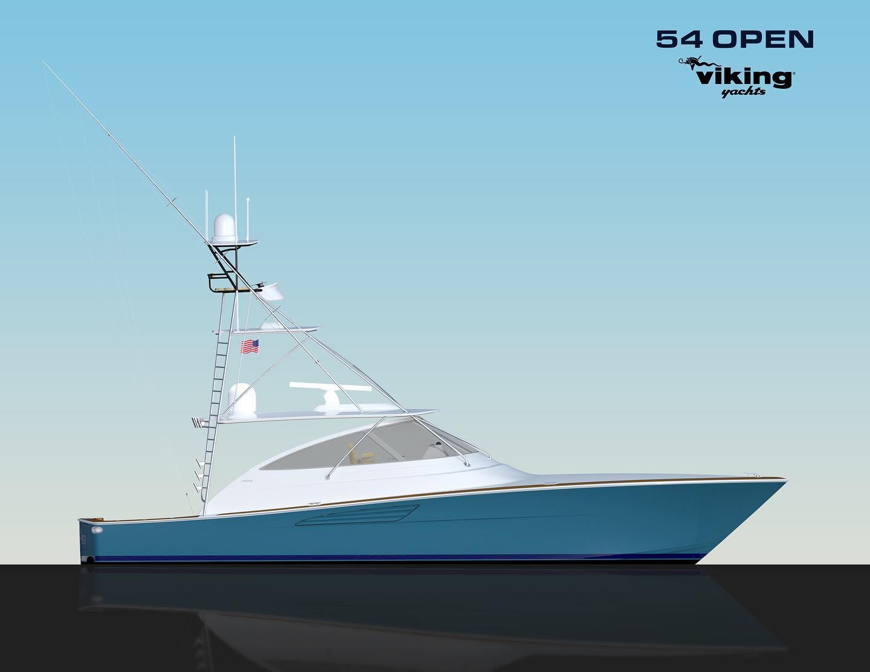 New Viking 54 Open
