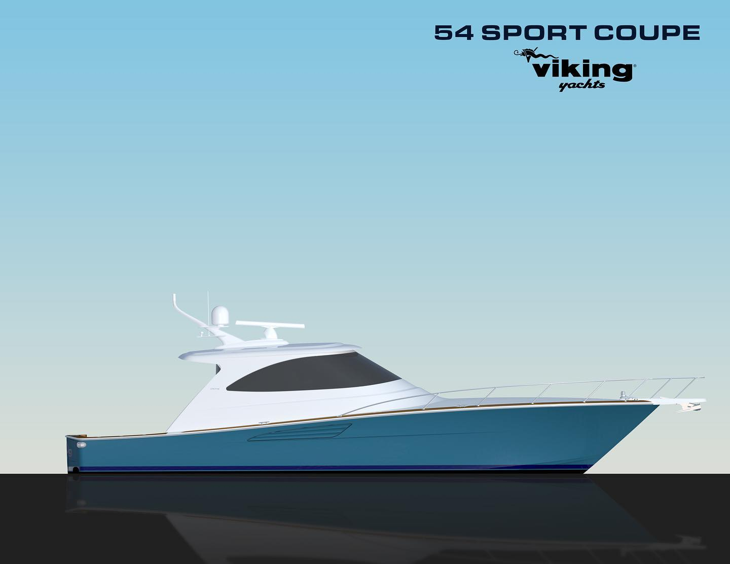 New Viking Yachts Sport Coupe