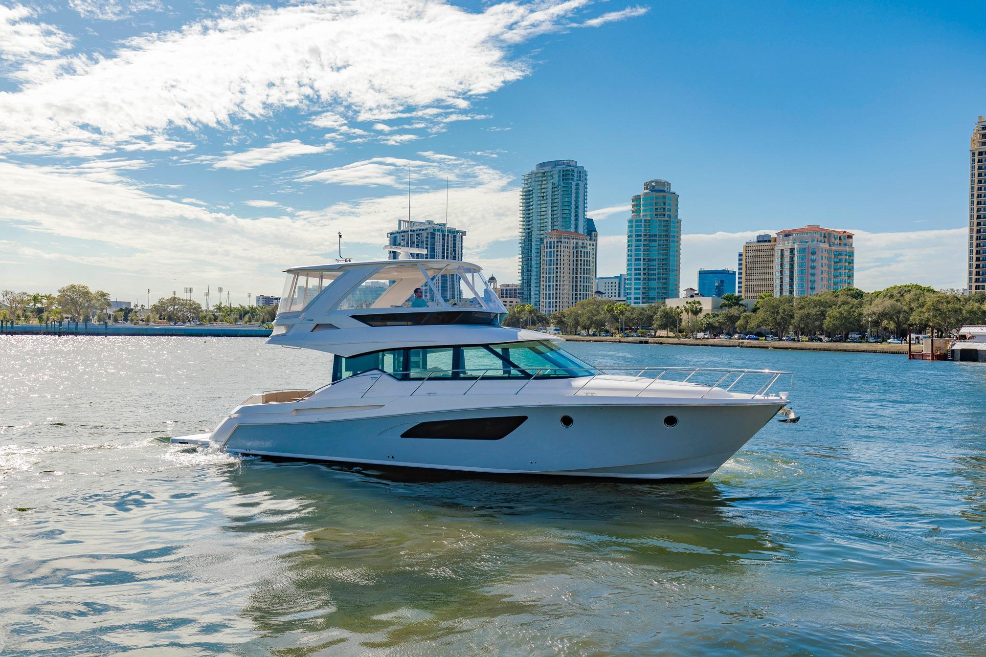 "2017 Tiara Yachts F53 Flybridge ""Fiji Kai"" — Sold by HMY Yacht Sales"