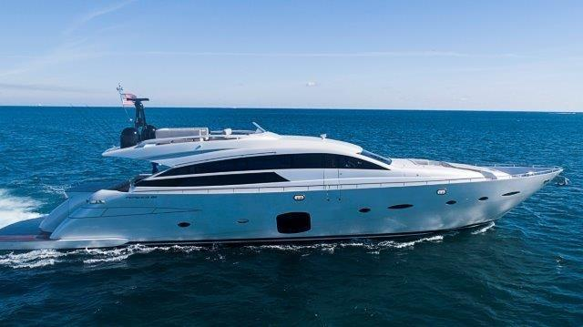 "2014 Pershing 92 Express Motor Yacht ""Neverland"" — Sold by HMY Yacht Sales"
