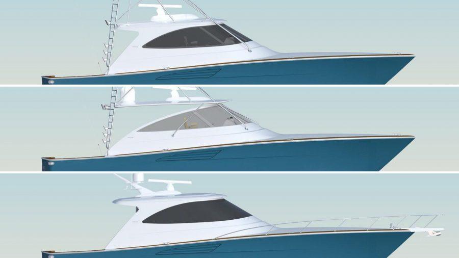 Three New Viking Yachts 54' Models