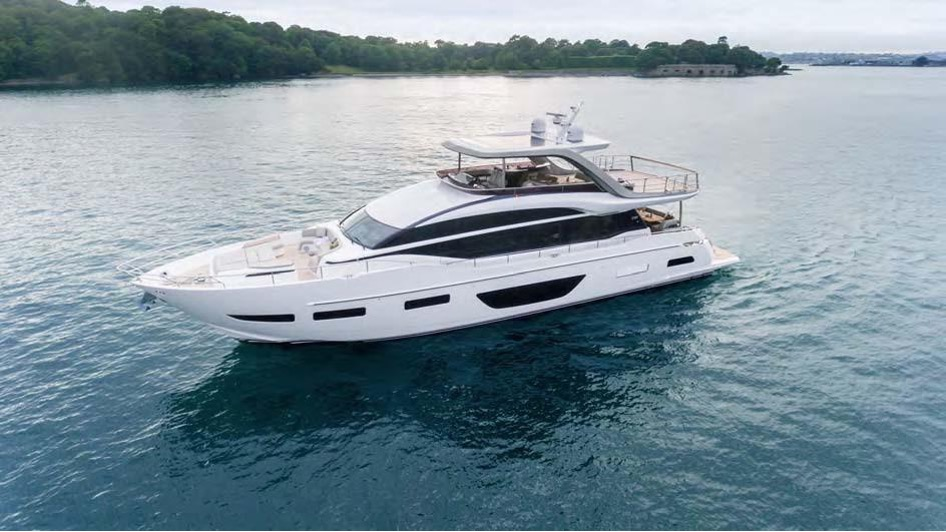 WARNING: The New Princess Y85 Motor Yacht May Cause Serious Buying Lust