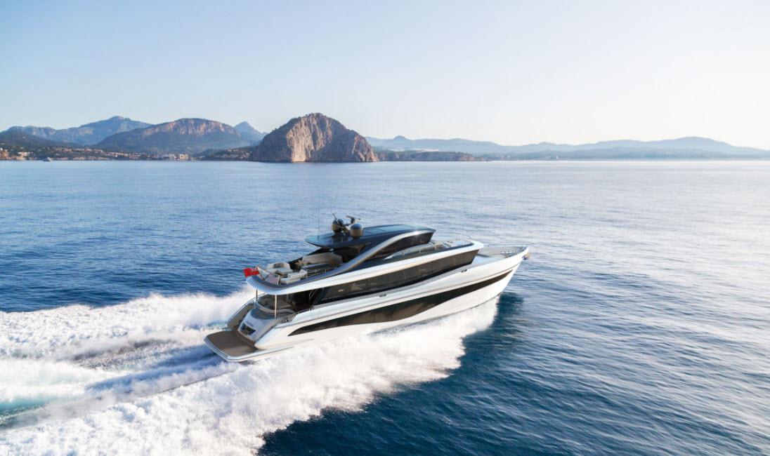 New Princess Yachts X80