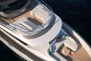 Princess Yachts X80 Foredeck