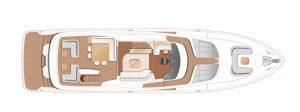 Princess X80 Flybridge Deck