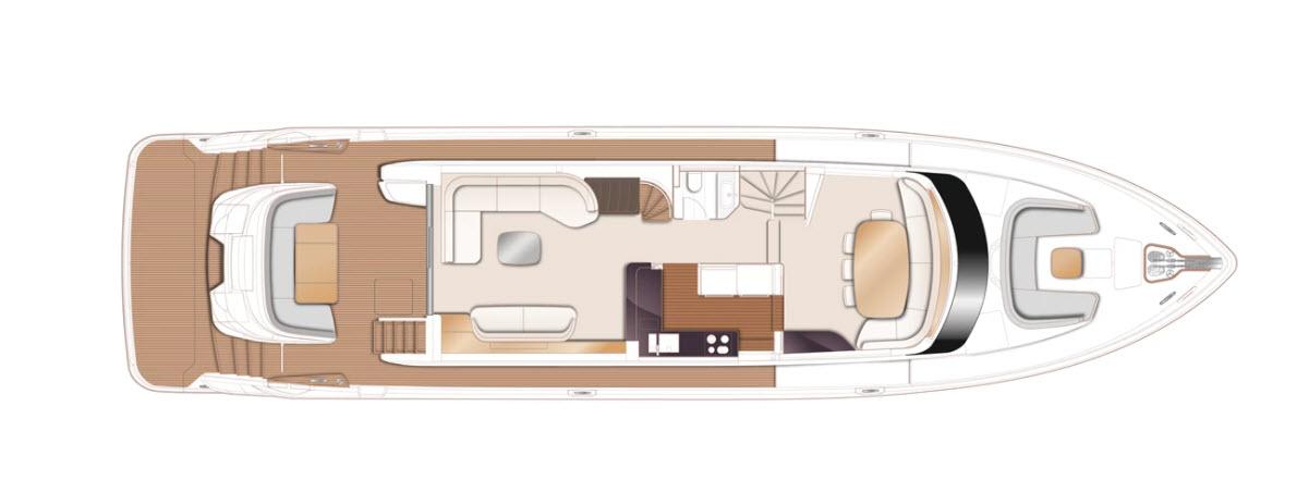 Princess X80 Main Deck