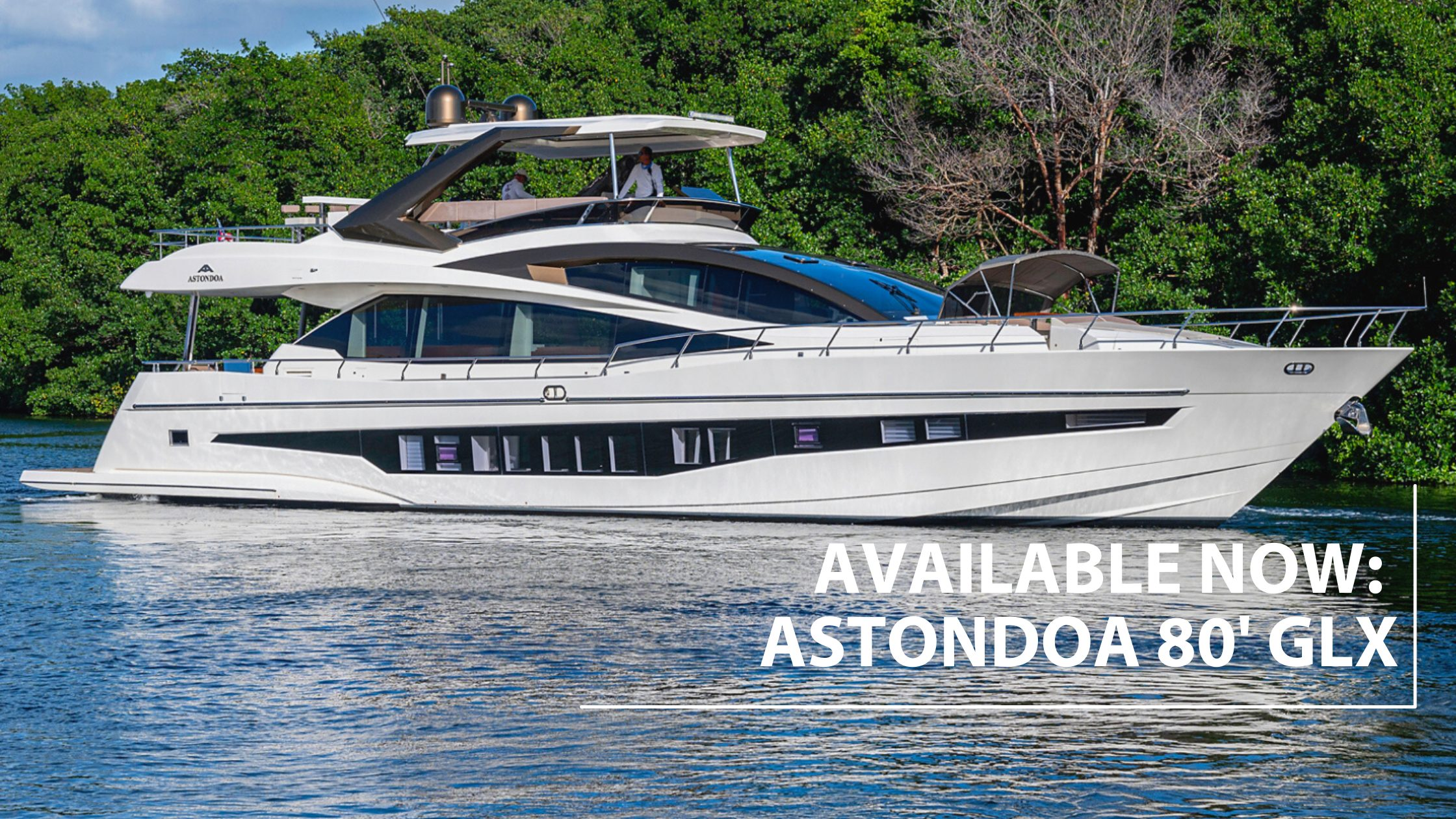 2018 Astondoa 80 GLX For Sale By HMY Yachts