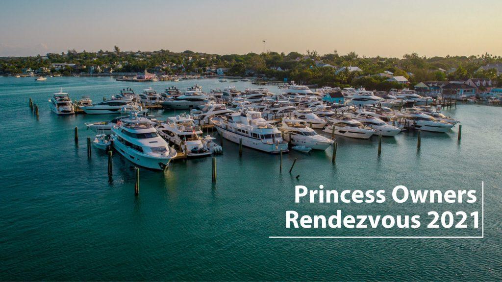 Valentines Marina with Princess yachts