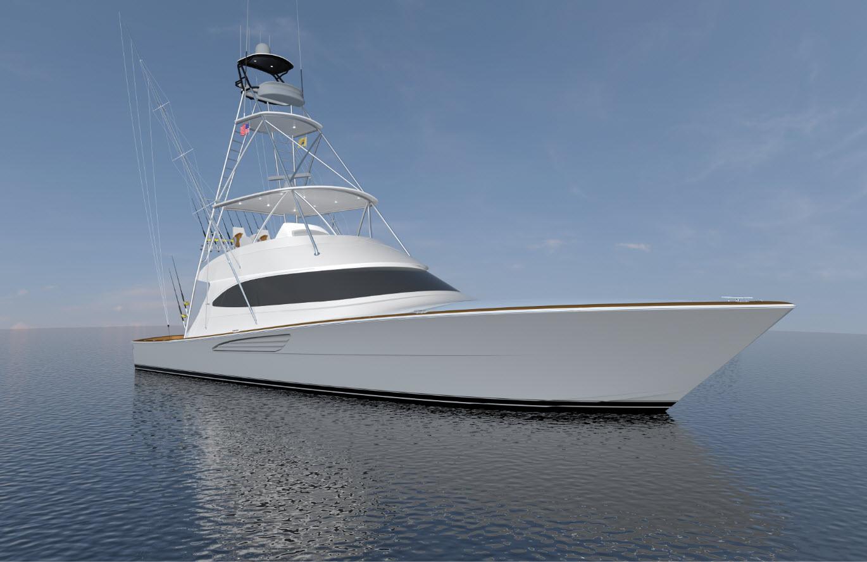 Viking 64 Convertible Profile 1