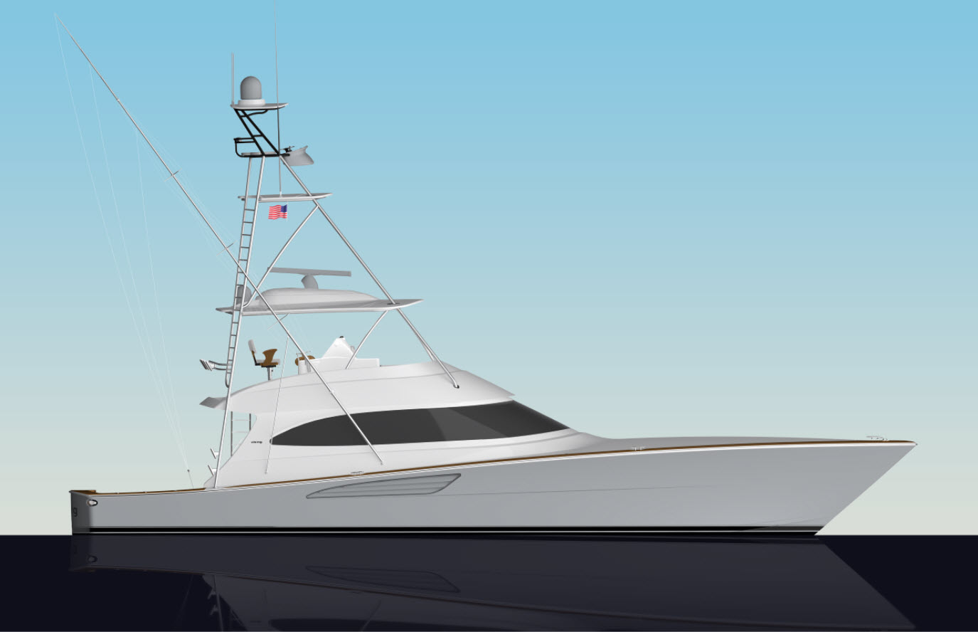 Viking 64 Convertible Profile