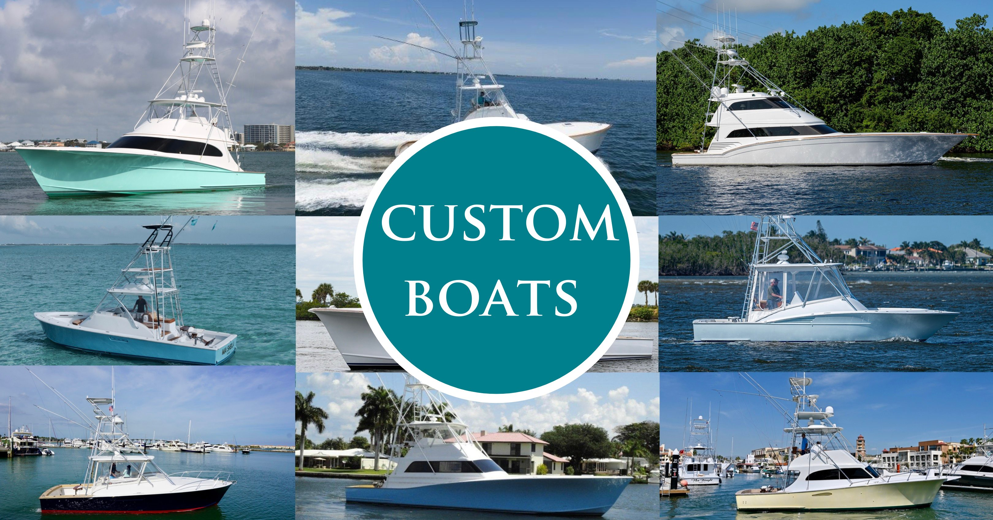 10 Custom Boats Available Now