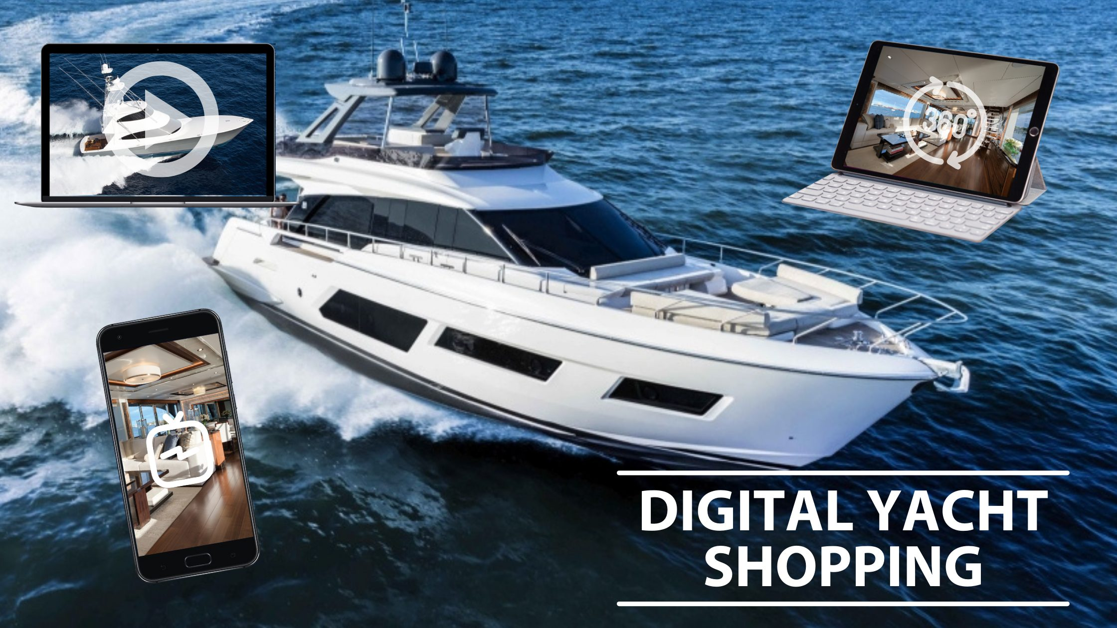 Digital Yacht Shopping – How Shopping For A Yacht Has Changed