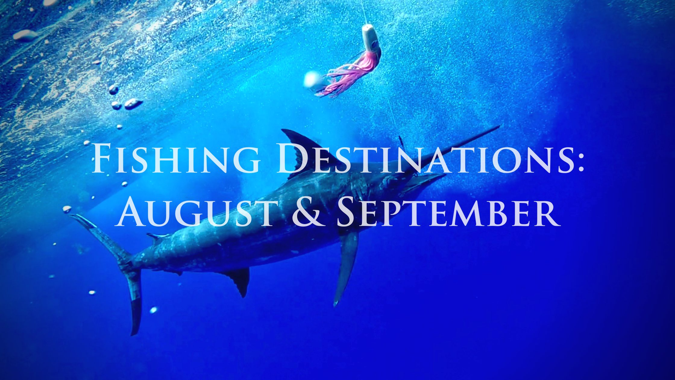 Fishing Destinations in August and September