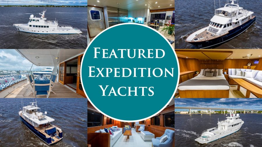 Sophisticated Exploration — Two Turnkey Expedition Yachts for Sale You Don't Want to Miss