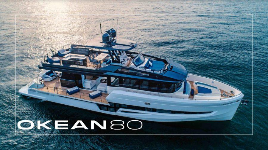 OKEAN Yachts 80' (24 Meter) Flybridge Motor Yacht Makes U.S. Debut at Fort Lauderdale International Boat Show